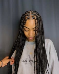 Coiffures protectrices Classic Braids