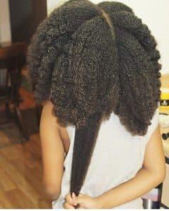 longs cheveux crepus