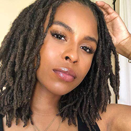 dreadlocks femme noire aux cheveux crepus
