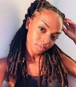 dreadlocks coiffure afro femme