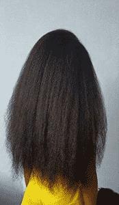 huiles essentielles sur cheveux crepus longs