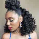 11 méthodes pour définir les boucles des cheveux crépus