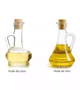 masque cheveux huile de coco et ricin