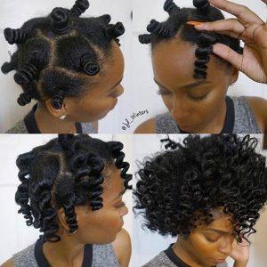 bantu knot out boucles cheveux