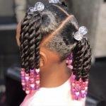 Coiffure petite fille afro : 54 modèles simple à réaliser