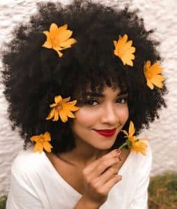 pousse cheveux afro