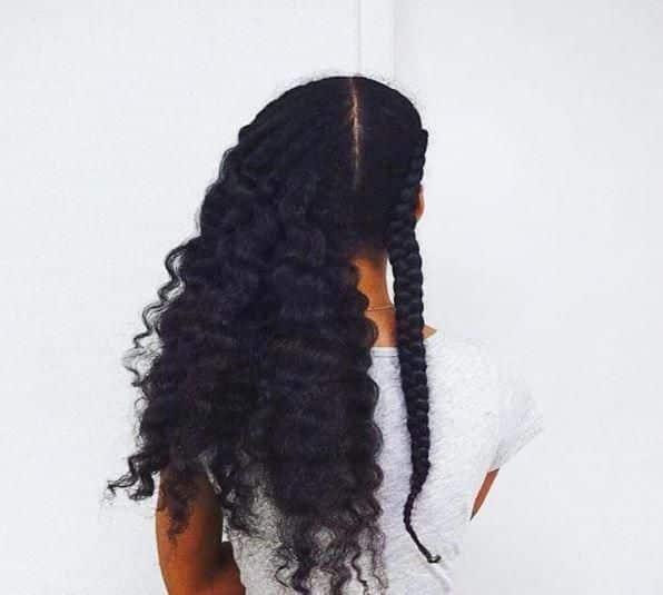 pousse cheveux crepus