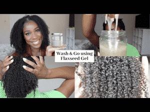 graines de lin bienfaits sur les cheveux crepus