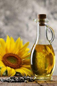 huile de tournesol cheveux